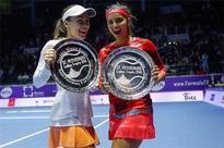Sania-Hingis win St. Petersburg Ladies Trophy