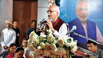 LK Advani, Anandiben Patel inaugurate a gym meant exclusively for women