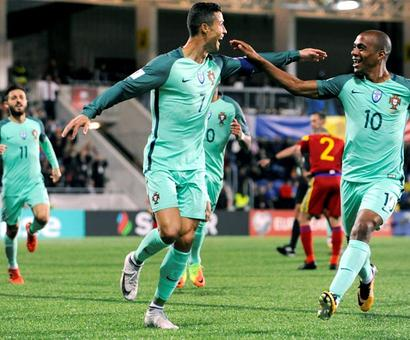 PHOTOS: Substitute Ronaldo rescues Portugal; Matuidi puts France in control