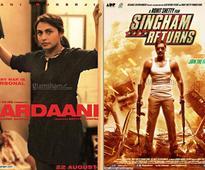 Rani Mukerji's MARDAANI is dull, Shetty-Ajay dominate with SINGHAM RETURNS!