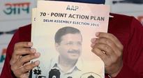 AAP releases manifesto with Swaraj, free WiFi and Jan Lokpal as offerings