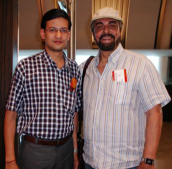 Spotted: Kabir Bedi at Mumbai airport