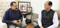 New CM of Nagaland calls on Jitendra