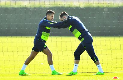 Wenger rejects reports of Sanchez bust-up