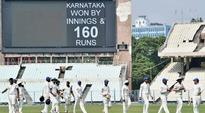 Ranji Trophy 2016: Gautam Gambhir-led Delhi sink to innings defeat against Karnataka