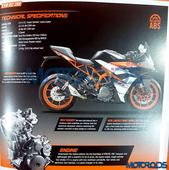 2017 KTM RC 390 & RC 200 Brochure Leaked, Get New Colours