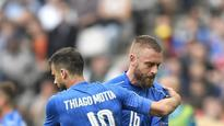Euro 2016: Trouble for Italy as Motta banned, De Rossi hurt ahead of QF