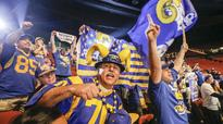 From L.A. to St. Louis and back: How a Rams superfan turned fandom into family