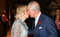 Rare royal show of public affection as Prince Charles kisses Camilla on Singapore tour