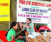 Health camp in border villages