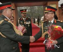 Army chief in China