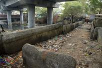 A bridge that could solve the trafficproblem near Sai Baba temple