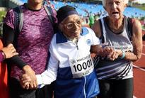 101-year-old woman wins 100 metres race
