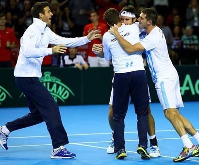 Davis Cup: Argentina dump Britain; Cilic fires Croatia into final