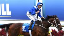 Champion mare Winx's eight length Cox Plate win draws comparisons to Usain Bolt