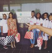 Ekurhuleni mayor, celebs spread festive cheer at children's ward