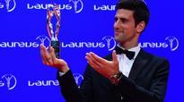 Novak beats Messi, Bolt