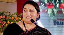 People's cooperation would help strengthen economy: Smriti Irani