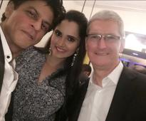 Tim Cook attends Shah Rukh's dinner party; Madhuri, Aishwarya, Abhishek, Aamir and others are special guests [PHOTOS]