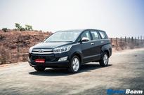 Mahindra XUV500 vs Toyota Innova Crysta  Spec Comparo