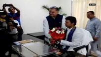 Biplab Kumar Deb takes charge as Tripura CM