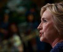 'I have a lot of sympathy for anyone whose emails become public': Clinton addresses Powell email hack