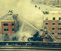 Live: Massive explosion causes building collapse in New York, 11 injured