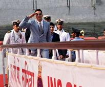 Ahoy There, That's Akshay, Twinkle's Son With PM Modi at The Fleet Review