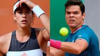 French Open: Defending champion Muguruza crashes out, Raonic eliminated after 84 unforced errors