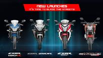 Honda to launch four new two-wheelers in four months