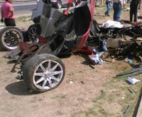 Here's How The Un-insured Koenigsegg Bit Dust In Mexico