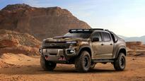 Cool stealth Chevy truck