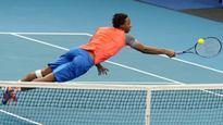 'Superman' Gael Monfils flies into Australian Open quarterfinals