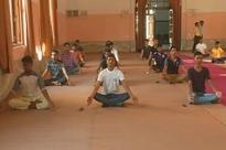 Now, Yoga classes in Muslim College