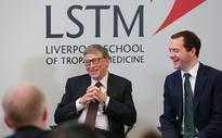 George Osborne And Bill Gates Discuss Their Joint Efforts In The Fight Against Malaria
