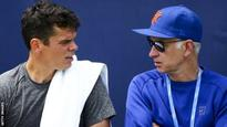 Raonic wants to continue with McEnroe