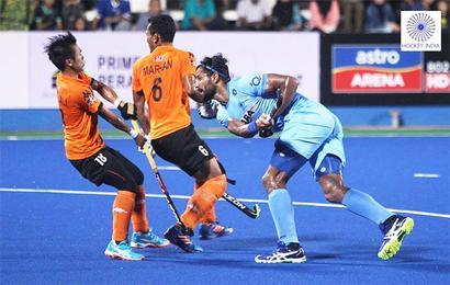 Azlan Shah: India lose to Malaysia 1-0, fail to enter final