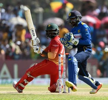 Mire hits century as Zimbabwe upset Sri Lanka