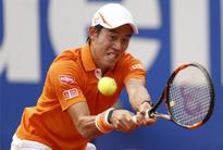 Tennis: Nishikori downs Dolgopolov to reach Barcelona semis