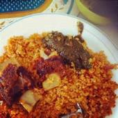 Jollof rice is a great dish to celebrate Kwanzaa or any time of yearDecember 28, 2015