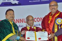 Honorary Doctorate Degree for Sathyaraj