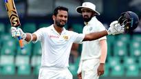 INDvSL: Dimuth Karunaratne strokes fine century, Sri Lanka cut India's lead to 137