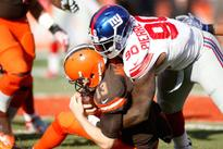 Jason Pierre-Paul visiting sports hernia specialist