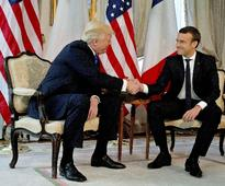 Trump meets E leaders in Brussels ahead of the NATO summit