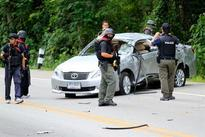 Roadside bomb kills 5 soldiers in south Thailand