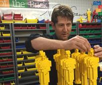 This guy quit being a Wall Street lawyer to become a Lego artist - now he's an international superstar