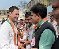 Guj polls: BJP has turned Sardar Patel, Gandhiji into products, says Rahul