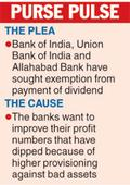 Dividend skip plea to clean up bad assets