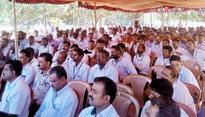 KKNPP employees strike work demanding incentive arrears
