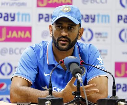 Give youngsters more time and opportunity, says captain Dhoni